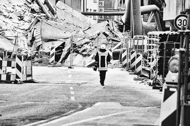 Eingestürztes Stadtarchiv in Köln