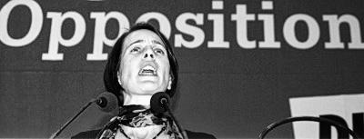 Katharina Schwabedissen, Landessprecherin Die Linke.NRW